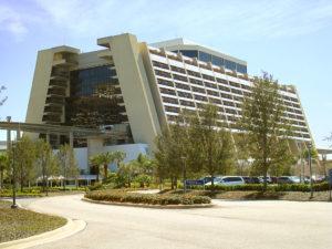 contemporary hotel disney world